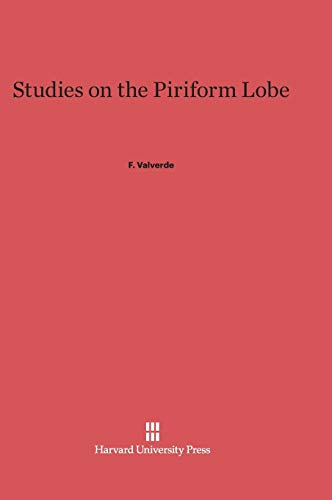 9780674864542: Studies on the Piriform Lobe