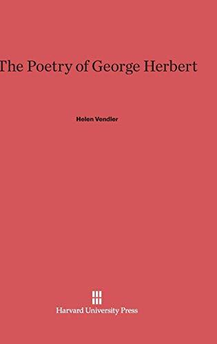 9780674864641: The Poetry of George Herbert