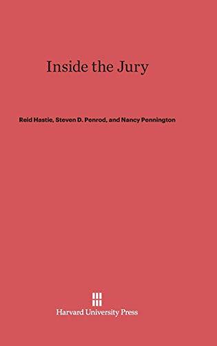 9780674865938: Inside the Jury