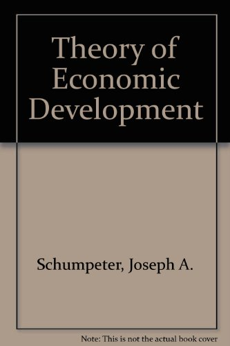 9780674879904: The Theory of Economic Development: An Inquiry into Profits, Capital, Credit, Interest, and the Business Cycle