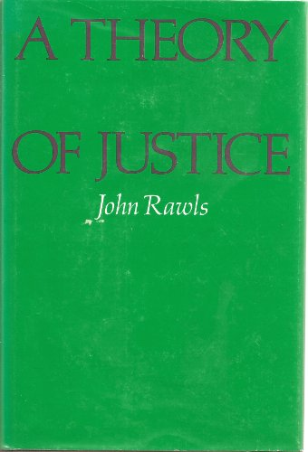 9780674880108: A Rawls: Theory of Justice (Cloth)