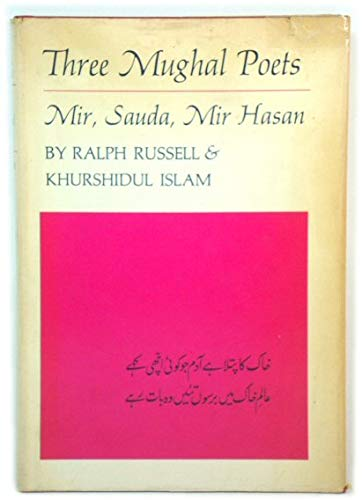 9780674889804: Russell: Three Mughal Poets