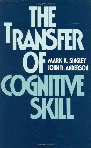9780674903401: The Transfer of Cognitive Skill (Cognitive Science Series)