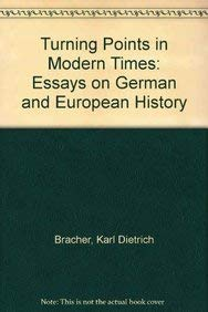 9780674913530: Turning Points in Modern Times: Essays on German and European History