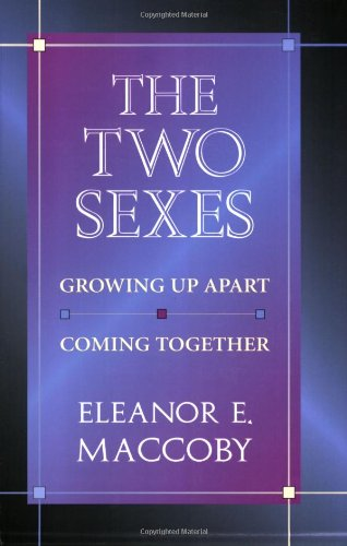9780674914827: The Two Sexes: Growing Up Apart, Coming Together