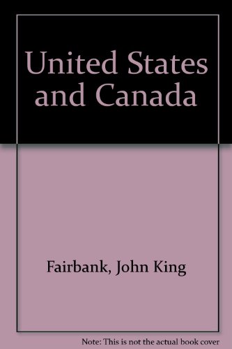 9780674924376: United States and Canada