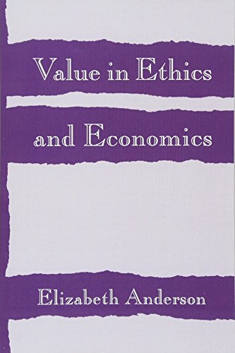 9780674931909: Value in Ethics and Economics