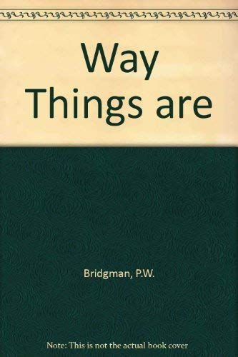 9780674948303: The Way Things Are
