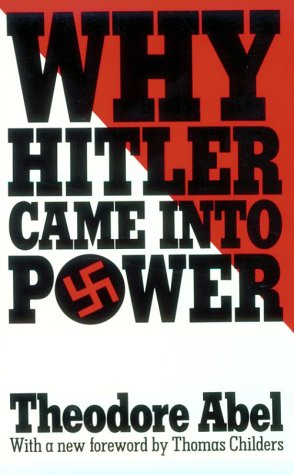 9780674952003: Why Hitler Came Into Power