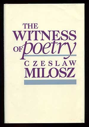 The Witness of Poetry