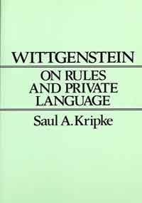 9780674954007: Wittgenstein on Rules and Private Language: An Elementary Exposition