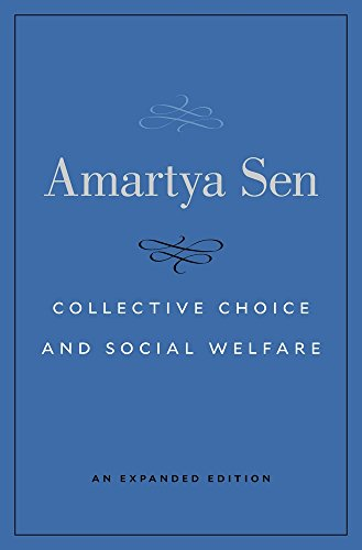 9780674971608: Collective Choice and Social Welfare