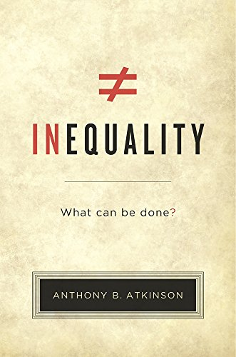 9780674979789: Inequality: What Can Be Done?