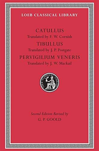 9780674990074: Catullus, Tibullus, Pervigilium Veneris (Loeb Classical Library No. 6)