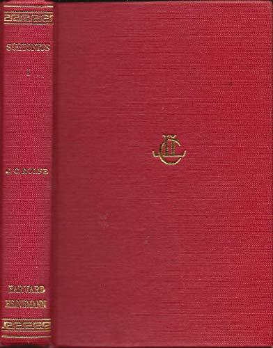 2 Vols. Trsl. J.C. Rolfe. [V.I. LIVES OF THE CAESARS; II. LIVES OF ILLUSTRIOUS MEN] [Latin & ...