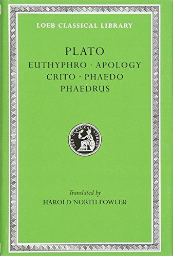 9780674990401: Euthyphro. Apology. Crito. Phaedo. Phaedrus: 1 (Loeb Classical Library)