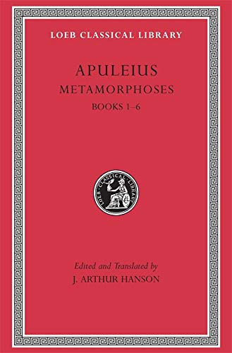 9780674990494: Metamorphoses (The Golden Ass), Volume I: Books 1-6 (Loeb Classical Library)