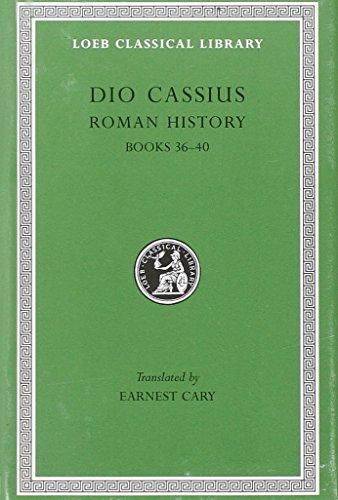 9780674990593: Roman History, Volume III: Books 36-40 (Loeb Classical Library)