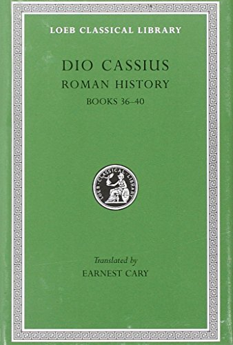 9780674990593: Roman History, Volume III: Books 36-40 (Loeb Classical Library)