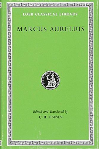 9780674990647: Marcus Aurelius (Loeb Classical Library)