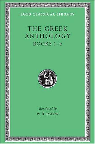 9780674990746: The Greek Anthology, Book 1-6 (Volume I)