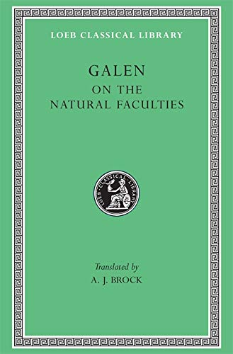 On the Natural Faculties (Hardcover): Galen