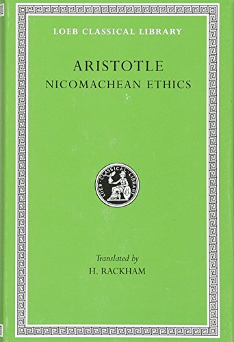 9780674990814: Aristotle, XIX, Nicomachean Ethics (Loeb Classical Library)