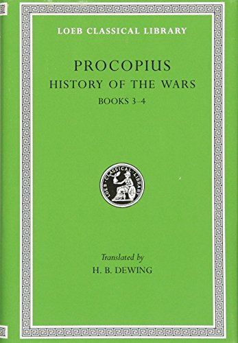 9780674990906: Procopius: History of the Wars, Vol. 2, Books 3-4: Vandalic War (Loeb Classical Library) (English and Greek Edition)
