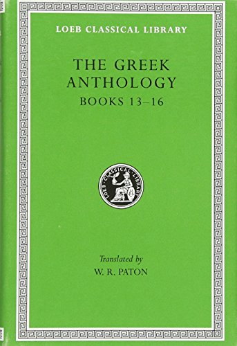 9780674990951: The Greek Anthology: 005
