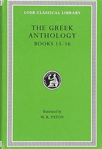 9780674990951: The Greek Anthology, Vol. 5 (Loeb Classic, 86)