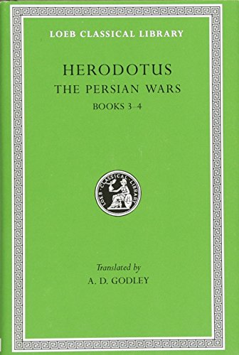 9780674991316: The Persian Wars, Volume II: Books 3-4 (Loeb Classical Library)