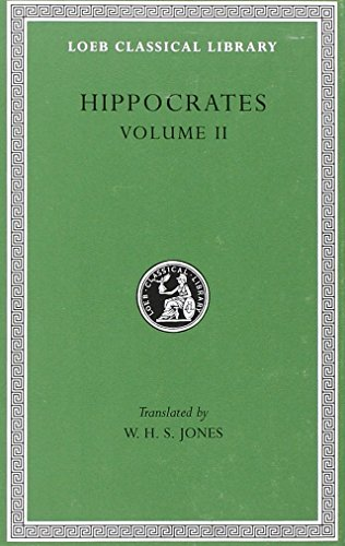 9780674991644: Hippocrates, Volume II: Prognostic (Loeb Classical Library, No. 148)
