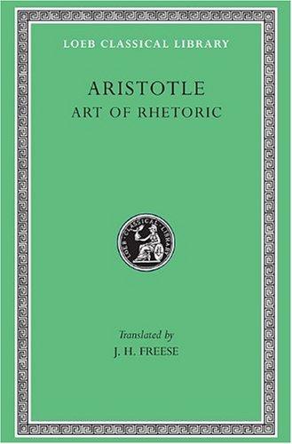 9780674992122: Aristotle: Art of Rhetoric, Volume XXII (Loeb Classical Library No. 193)