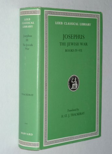 9780674992320: Works: Jewish War Vol 3 (Loeb Classical Library)