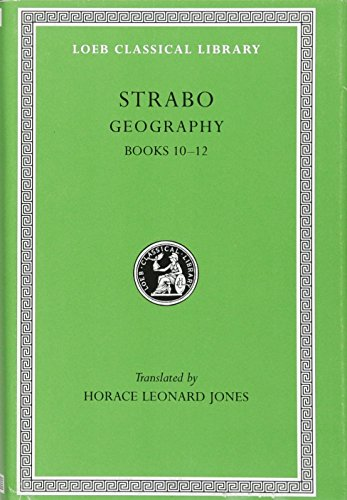9780674992337: Strabo: Geography, Books 10-12 (Loeb Classical Library No. 211) (Volume V)