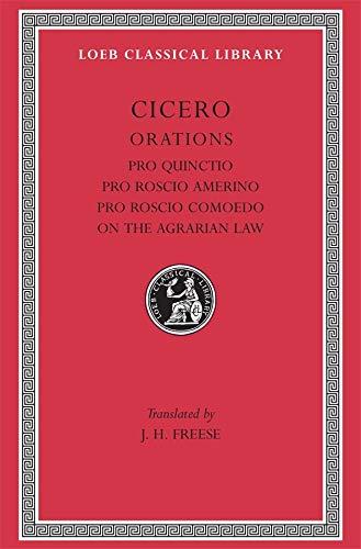 9780674992658: Cicero: Pro Publio Quinctio-Pro Sexto Roscio Amerino-Pro Quinto Roscio Comoedo-De Lege Agraris I. Ii., III: 006