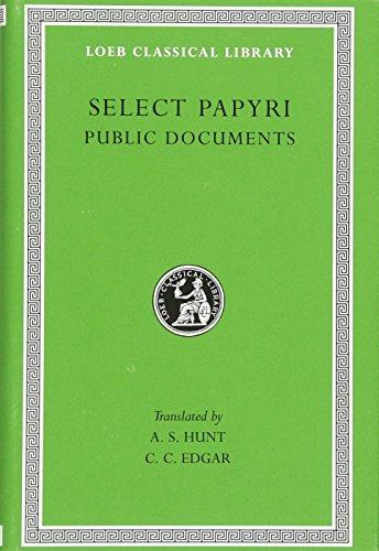 9780674993129: Non-Literary Papyri- Public Documents L282 V 2 (Trans. Hunt)(Greek)