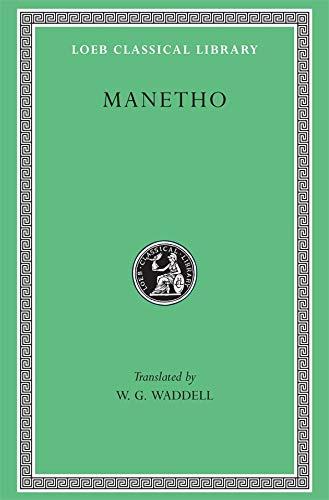 Manetho: History of Egypt and Other Works: Manetho & W.