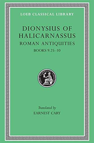 9780674994164: Roman Antiquities: v. 6 (Loeb Classical Library)