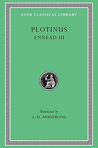 9780674994874: Ennead, Volume III: Bk. 3 (Loeb Classical Library)
