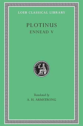 9780674994898: Plotinus V: Ennead V (Loeb Classical Library, 444)