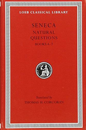 9780674995031: Seneca: Naturales Quaestiones, Books 4-7 (Loeb Classical Library No. 457)