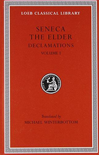 9780674995109: Seneca the Elder: Declamations: 001
