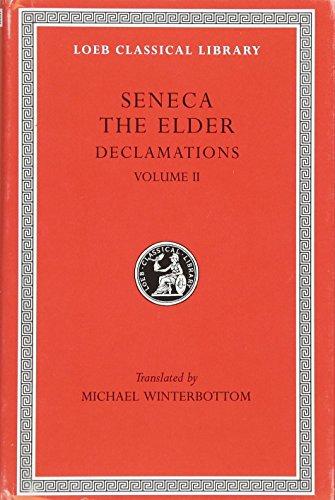 9780674995116: Seneca the Elder: 002