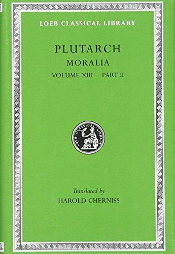 9780674995178: Plutarch's Moralia: Part Two : Stoic Essays: 013