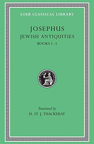 9780674995758: Josephus: Jewish Antiquities Books I-III