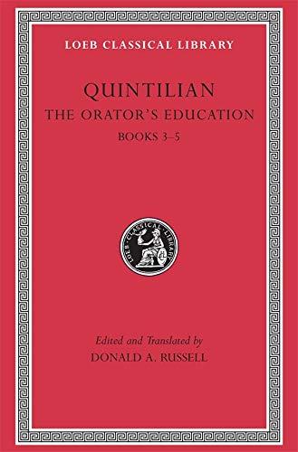9780674995925: The Orators Education V 2 Books 3–5 L125 (Trans. Russell)(Latin)