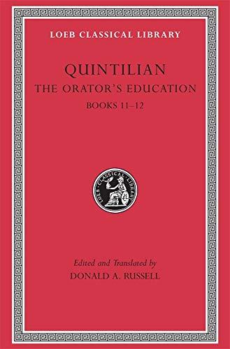 9780674995956: The Orator's Education, Volume V: Books 11-12: v. 5, Bk. 11-12 (Loeb Classical Library)