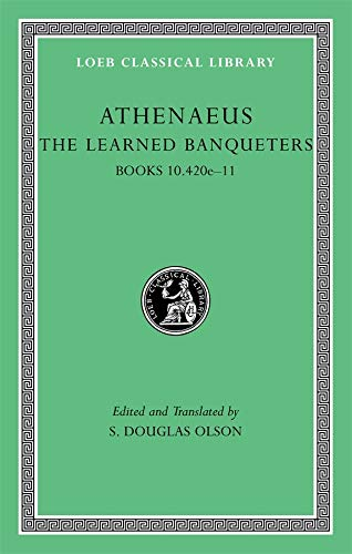 9780674996328: The Learned Banqueters, Volume V: Books 10.420e-11: Books 10.420e-11 v. V (Loeb Classical Library)
