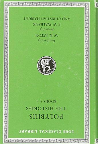9780674996380: Polybius, the Histories, Volume II: Books 3-4: 2 (Loeb Classical Library)